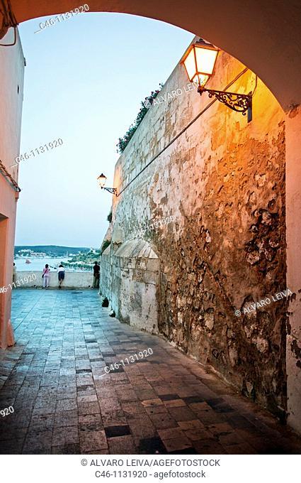 Mahon. Minorca. Balearic Islands. Spain
