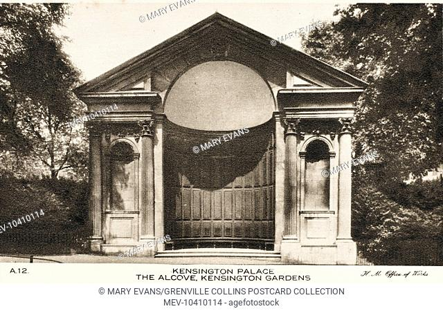 The Alcove, Kensington Gardens, Kensington Palace, London
