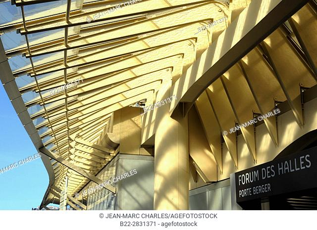 The Canopy, La Canopée, new Forum des Halles, Paris, France