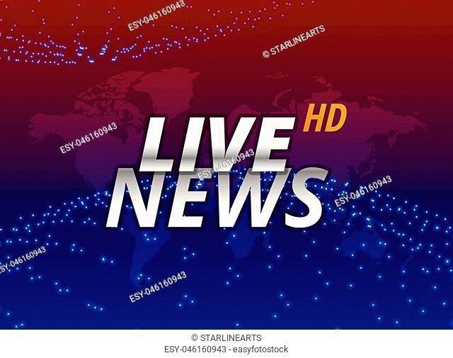 live news background concept design