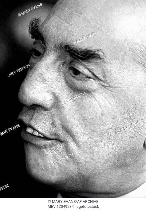 Luigi Dallapiccola Music Composer 01 May 1968