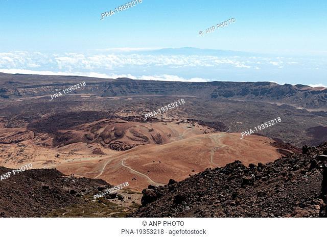 Pico del Teide National Park, Tenerife, Canary Islands, Spain, Europe