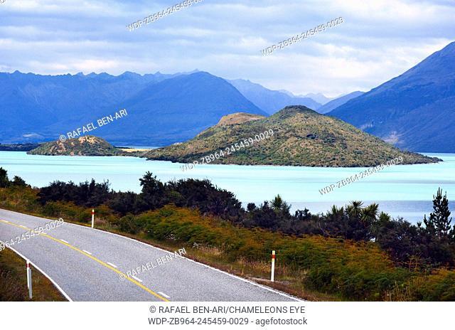 Landscape of lake Wakatipu near Glenorchy in the south Island, New Zealand.Photo by Rafael Ben-Ari/Chameleons Eye