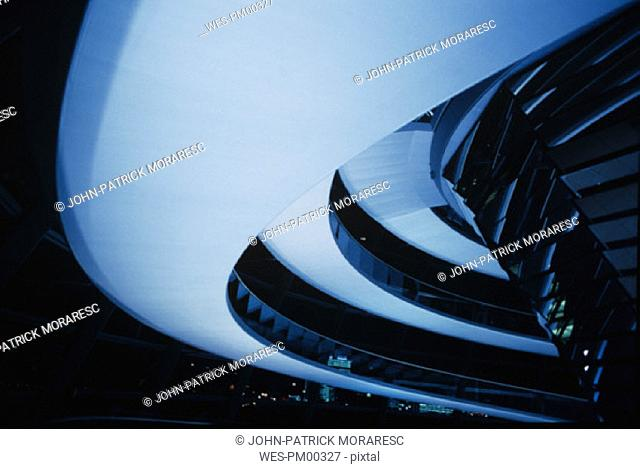 Dome of the Reichstag, detail, Berlin, Germany