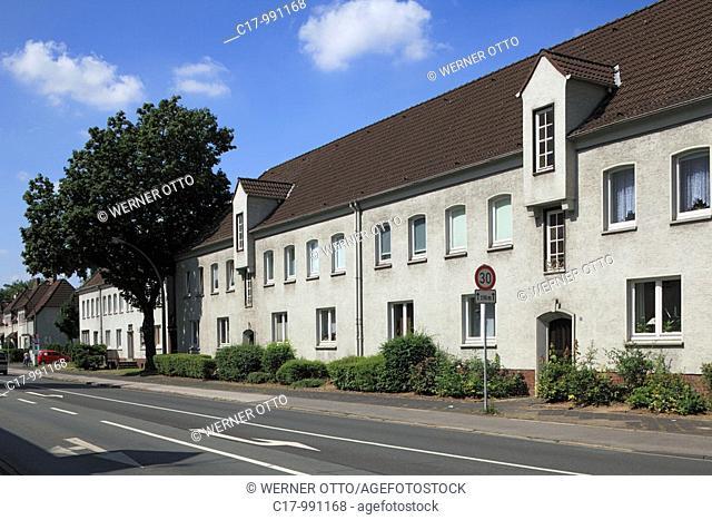 Germany, Duisburg, Rhine, Lower Rhine, Ruhr area, North Rhine-Westphalia, Duisburg-Rheinhausen, Duisburg-Rheinhausen-Hochemmerich, Friedrich Alfred Krupp
