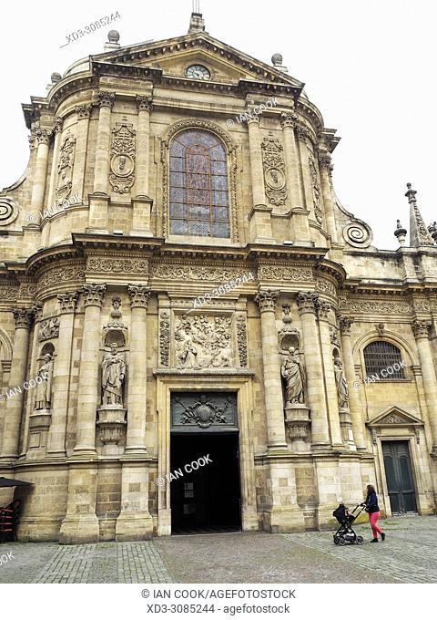 Eglise Notre Dame, Place de la Chapelet, Bordeaux, Gironde Department, Aquitaine, France