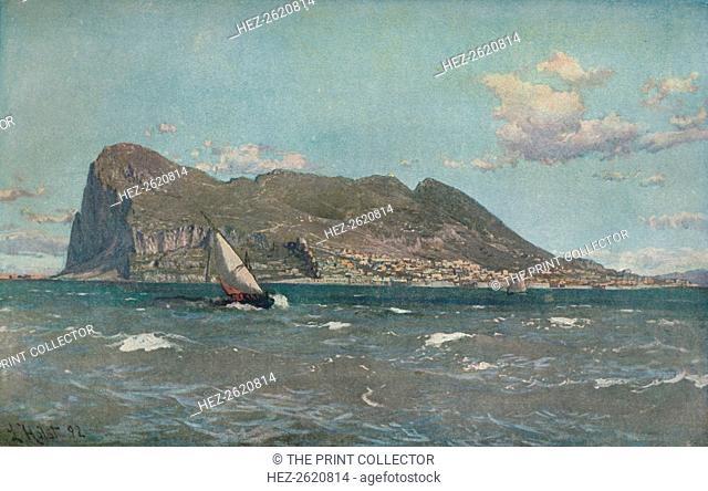 'Gibraltar', c1903-1904. Artist: Laurits Bernhard Holst
