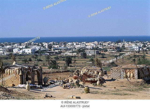 Tunisia - The South - Jerba - Guellala - Pottery Village