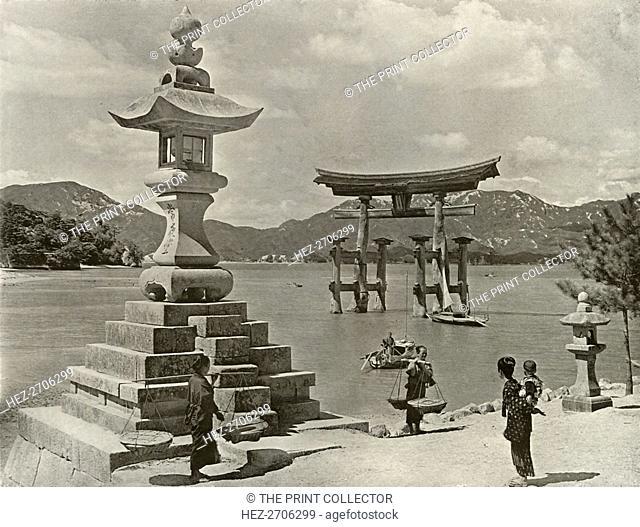 'Miyajima', 1910. Creator: Herbert Ponting