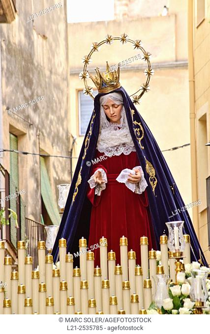 Holy Week. Tarragona, Catalonia, Spain