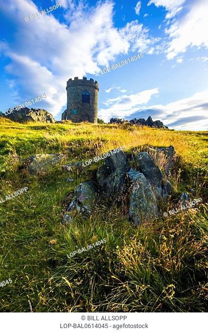 England, Leicestershire, Newton Linford. Old John folly on the highest hill in Bradgate Park in Leicestershire