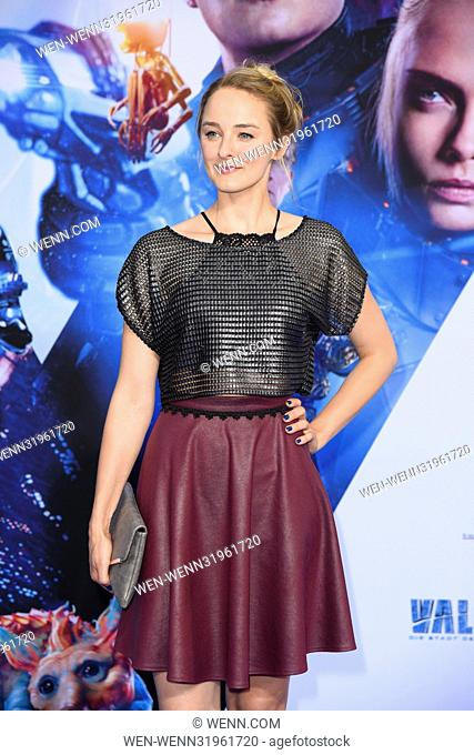 German premiere of the movie 'Valerian - Die Stadt der tausend Planeten' at CineStar Sony Center at Potsdamer Platz square