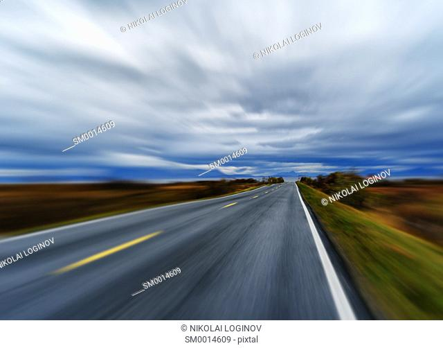 Highway speed rush abstraction