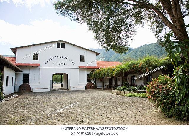 Beneficio de Cafe La Azotea, Jocotenango, Antigua, Guatemala
