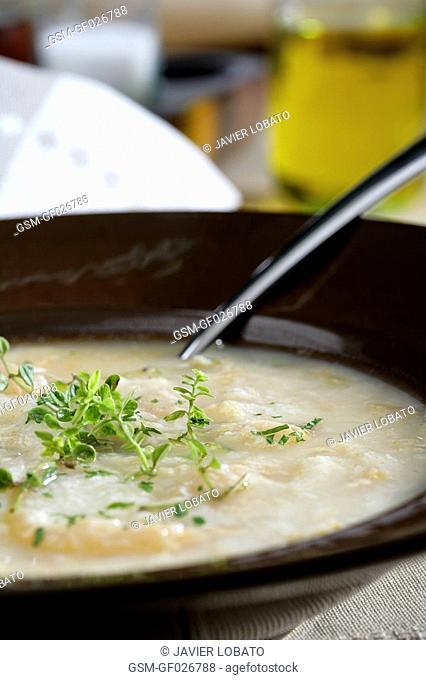 Thyme soup
