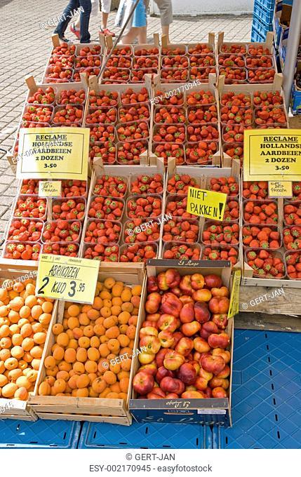 Fruits at a marketplace