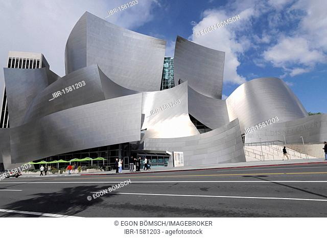 Walt Disney Concert Hall by Frank Gehry, Los Angeles, California, USA