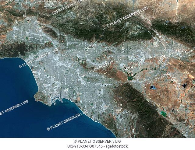 Los Angeles to San Bernarnido, California, United States