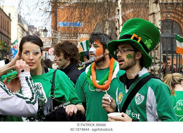 Dublin, Ireland, Dressing Up For Saint Patrick's Day