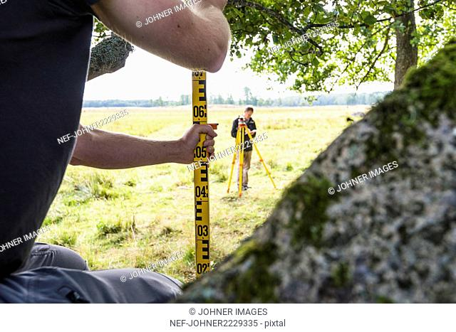 Surveyors at work