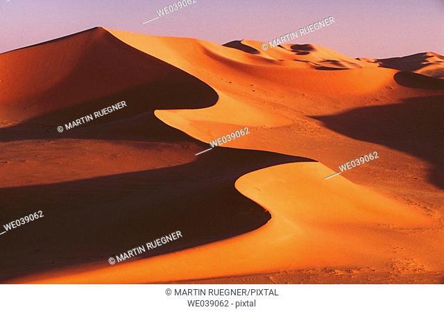 Algeria Sahara desert. Grand Erg oriental sand dune