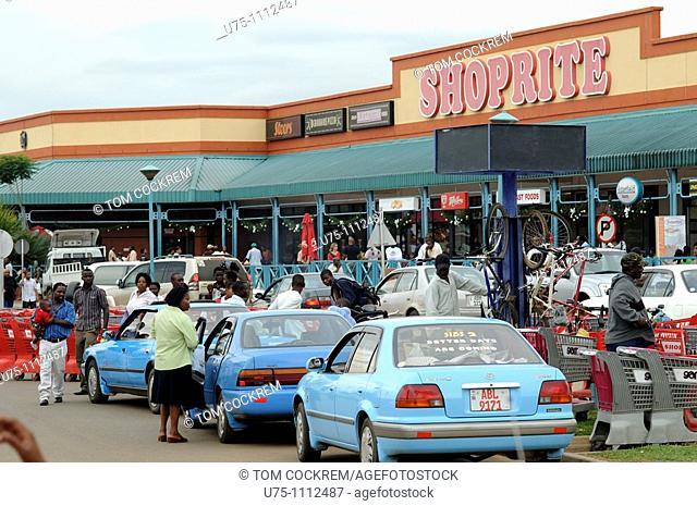 manda hill shopping centre, lusaka, zambia