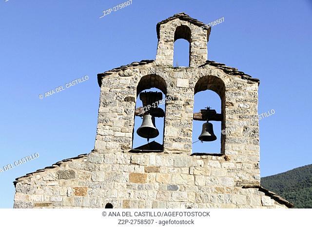 Santa Maria de Cardet church Cardet Boi valley Lleida Catalonia Spain
