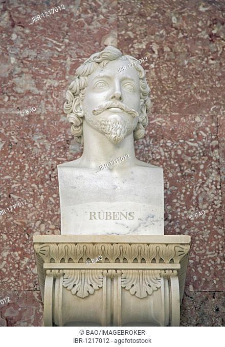 Bust of Peter Paul Rubens, Flemish painter
