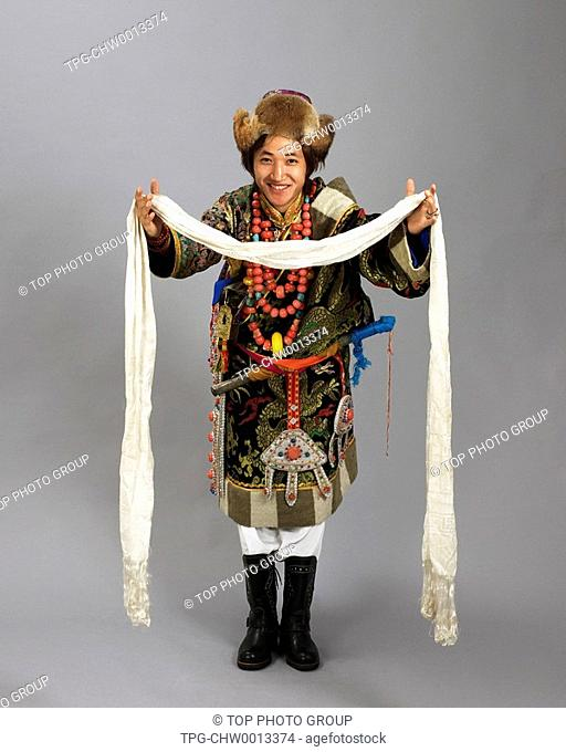 a man of Tibetan Ethnicity