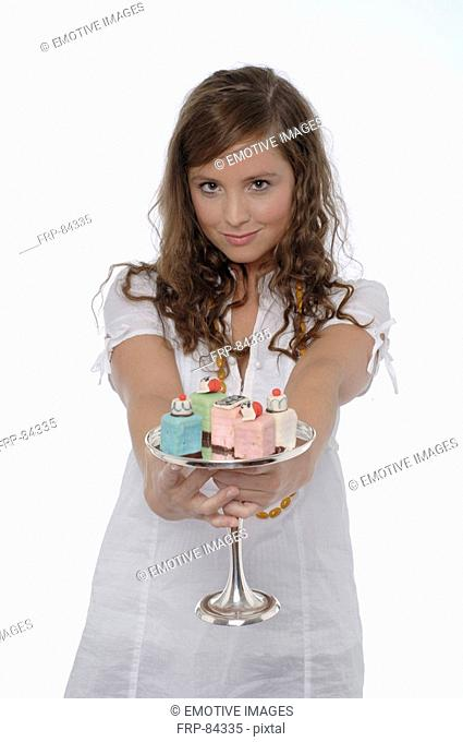 Girl with Petit Fours