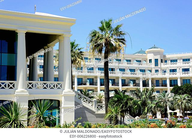 Hotel located on the seafront of the city of Valencia, Spain