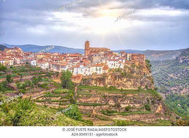 Spain, Valencia, Castellon Province, Maestrazgo Region, Villarluengo city