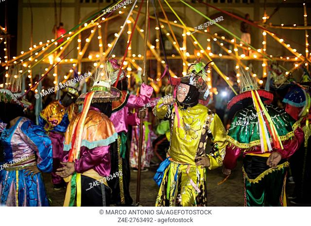 Celebration in honor of Saint Benedict - Poconé - MT -Brazil