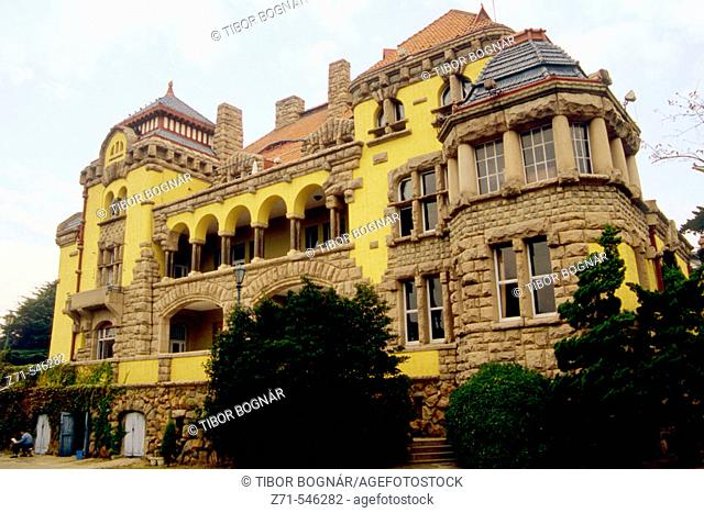 Guest House, former german governor's residence. Qingdao. Shandong Province. China