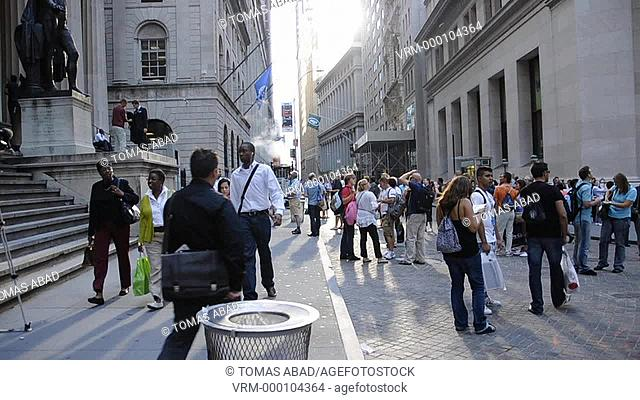 Wall Street, Manhattan, Financial District, Downtown, New York City