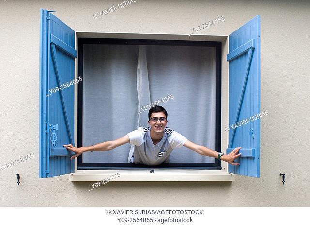 Open the window