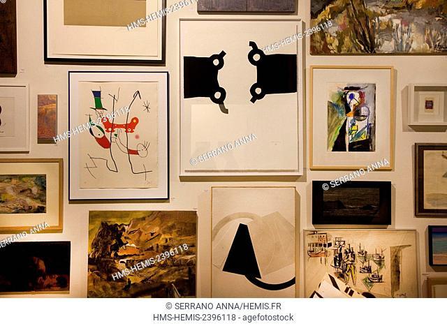 Spain, Basque Country, Guipuzcoa province (Guipuzkoa), San Sebastian (Donostia), European capital of culture 2016, Ekain Arte Lanak Art Gallery