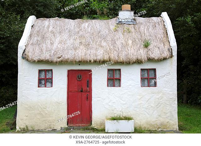 Model of Traditional Cottage, Carraig Bar, Leenane - Leenaun, Connemara; Galway; Ireland