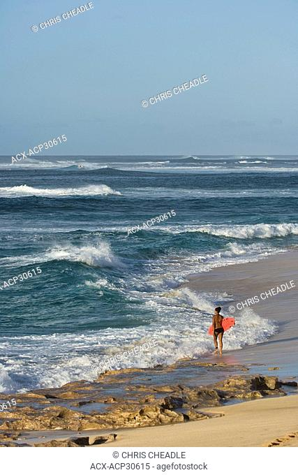 Sunset Beach, North Shore beach, Oahu, Hawaii, United States