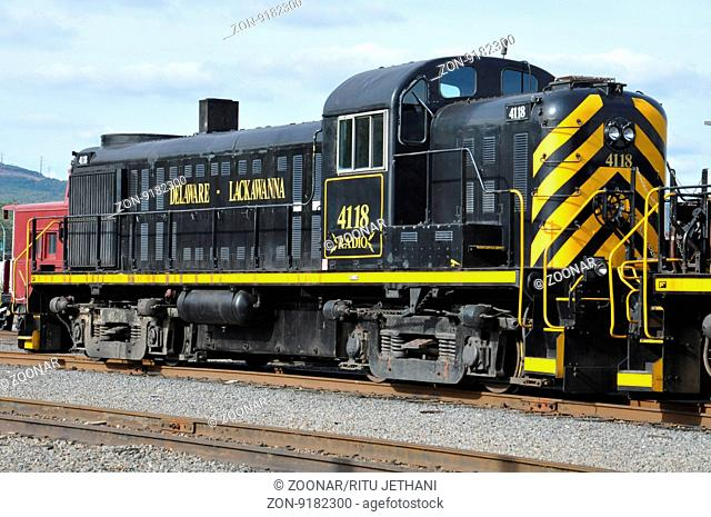 Steamtown National Historic Site in Scranton, Pennsylvania (USA)