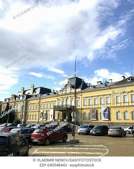 SOFIA, BULGARIA - JULY 01, 2018: Sofia is the capital and largest city of Bulgaria
