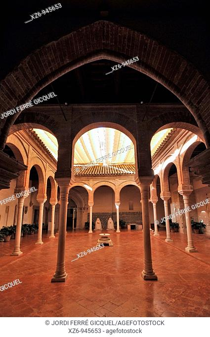 Cloister of La Cartuja Monastery, Sevilla, Andalucía, Spain, Europe october-2009