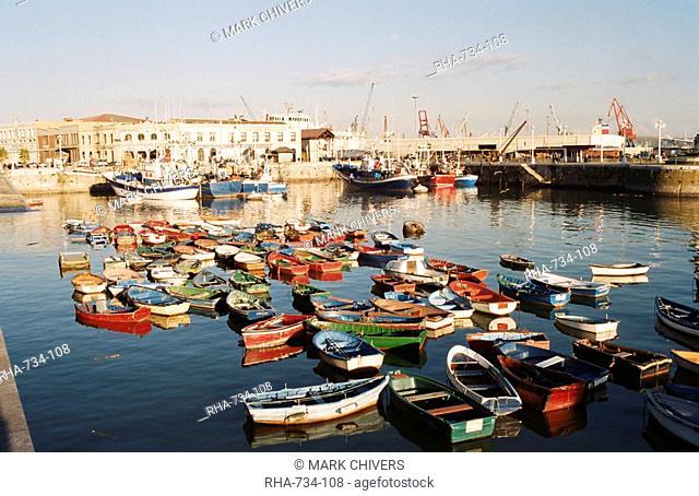 Port of Santurtzi, northern Spain, Europe