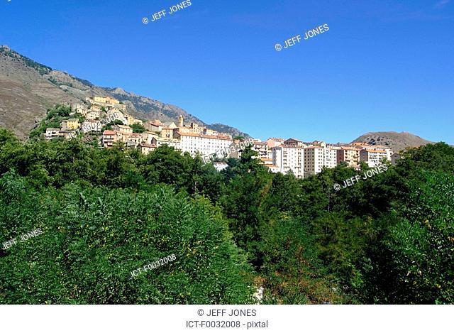 France, Corsica, Corte