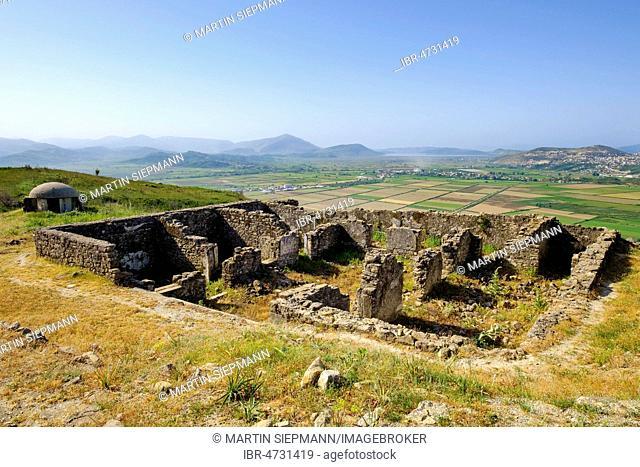 Ruins, ancient city Phoinike, Foinike, Finiq near Saranda, Qark Vlora, Albania
