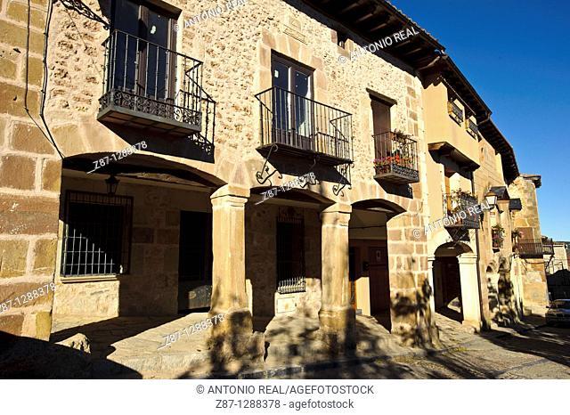 Atienza, Ruta del Rómanico Rural y Ruta de Don Quijote, Guadalajara, Spain