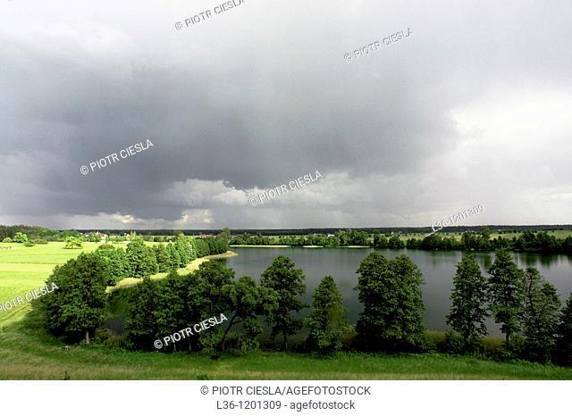 The Wigry National Park Wigierski Park Narodowy North-eastern Poland