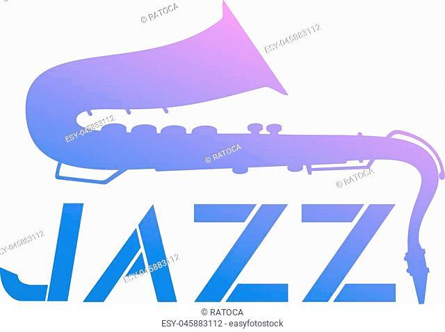 Creative design of color Jazz icon