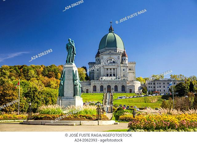 Canada , Quebec Province , Montreal City , St. Joseph's Oratory , Basilica, Mont Royal