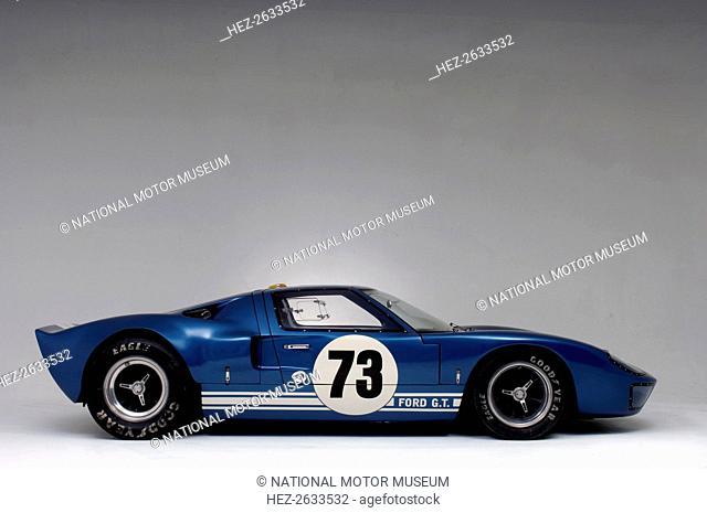 Ford GT40 Daytona prototype 1965. Artist: Simon Clay